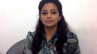 Priyamani wishes everyone a Happy Diwali :)