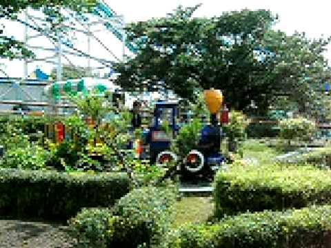 東山動植物園の遊園地、コアラ列車