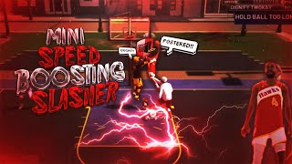 SPEED BOOSTING 5 FOOT PURE SLASHER IS UNSTOPPABLE! CRAZY CONTACT DUNKS AND POSTERIZING FINISHES!