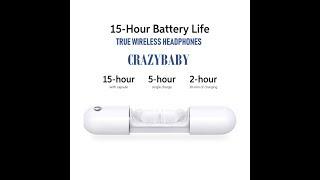 (EPISODE 2513) AMAZON PRIME UNBOXING: Crazybaby Nano 1S True Wireless Earbuds Bluetooth 5.0 @amazon