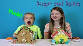 Sugar and Spice Gingerbread Challenge / JustJordan33