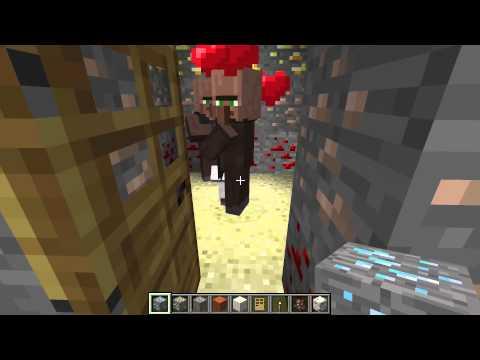 Трюки в Minecraft: #9 Как разводить жителей и еще одна мелочь