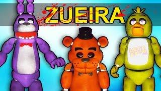 Gmod Five Nights at Freddy da ZUEIRA - Momentos Engraçados (Garry