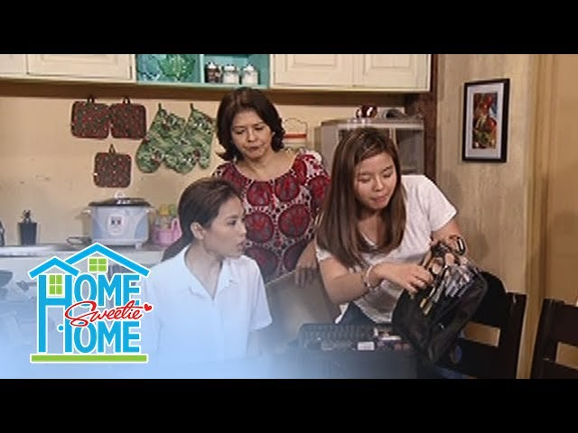 Home Sweetie Home: Gigi and Loi apply make-up on Julie