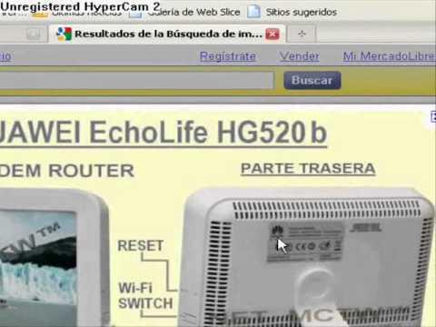 Abrir Puertos Modem ●Huawei EchoLife HG520b●  ●.●