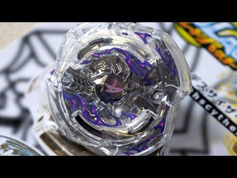 Deathscyther Oval Accel Starter Beyblade BURST (B-12) Unboxing & Review! - ベイブレードバースト