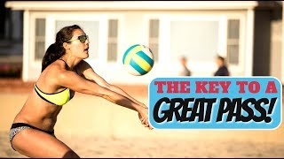 Are You Using the Best Serve Receive Footwork?: Beach Volleyball Tutorial