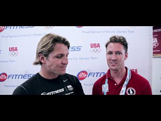 OlympicsOrBust London 4: Tony Azevedo and Kerri Walsh at the USOC Training Center