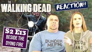 The Walking Dead | S2 E13 'Beside The Dying Fire' | Reaction | Review