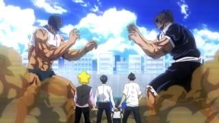 Epic Anime Fight Scene: Tetsuo vs.Stella & Tetsuro