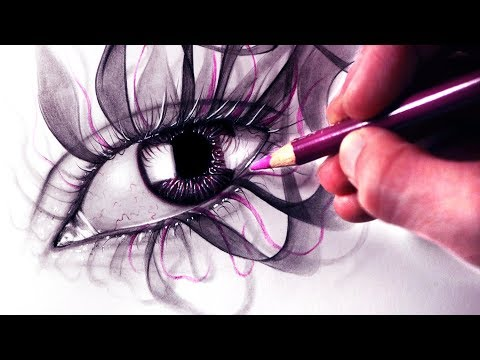 Drawing a SMOKING EYE