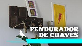 Pendurador de chaves - Sob encomenda - CANÁRIO HANDMADE