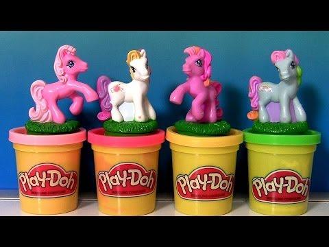 Play Doh My Little Pony Stampers Pinkie Pie Rainbow Dash Sunny Daze Twinkle Twirl MLP Dough