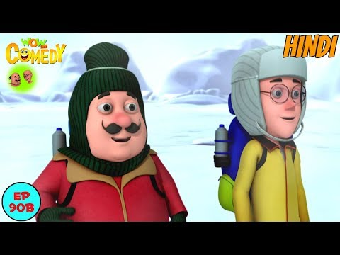 Motu Patlu In Antartica - Motu Patlu in Hindi - 3D Animated cartoon series for kids thumbnail