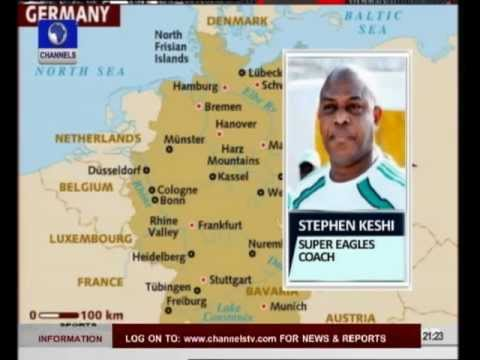 Coach Stephen Keshi speaks on Eagles Preparation