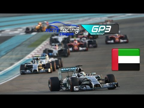 XRL GP3 Division - Round 19 - Abu Dhabi - Season  9