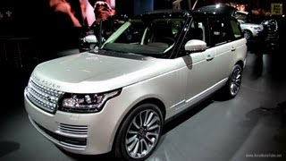 2013 Range Rover Autobiography Edition - Exterior and Interior Walkaround - 2012 Paris Auto Show