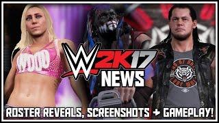 WWE 2K17 - NEW Roster Reveals, NEW Screenshots & NEW Gameplay! (WWE 2K17 News) #RoadToWWE2K17