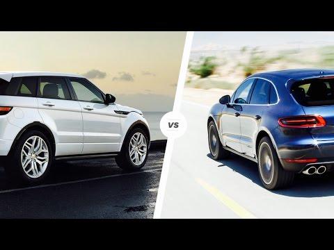2017 Porsche Macan Vs Range Rover EVOQUE | Ultimate REVIEW & COMPARISON