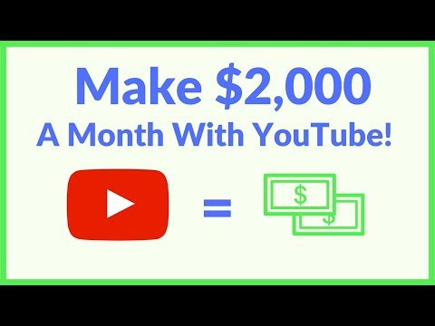 Make $2,000 A Month On YouTube With Simple Review Videos (Easy)