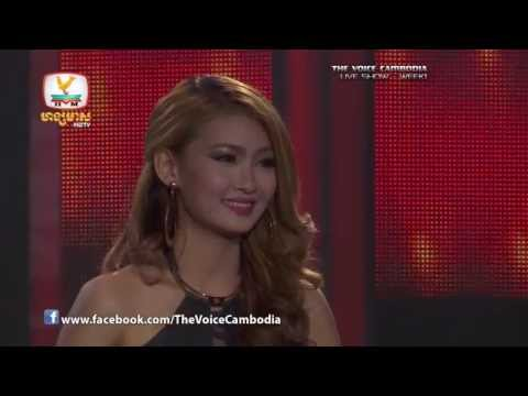 The Voice Cambodia - Live Show 1 - Srolanh Mnus Mneak Sen Pibak - Keo Sopanha