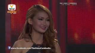 The Voice Cambodia - Live Show 1 - ស្រលាញ់មនុស្សម្នាក់សែនពិបាក - កែវ សុបញ្ញា