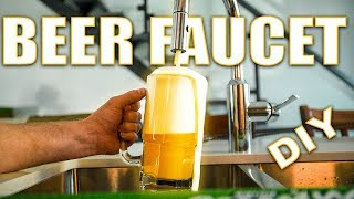 Pour BEER from the kitchen sink!! (TUTORIAL)