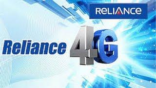 Reliance Jio 4G Speed