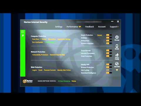 Norton Internet Security overview