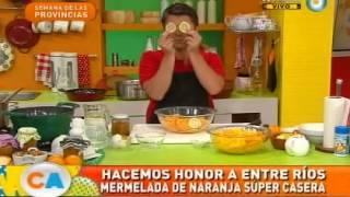 Mermelada de naranja súper casera de Entre Ríos (Parte 1)