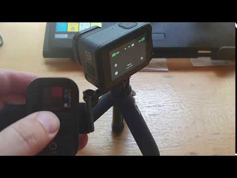 Gopro Hero 9 working with WiFi / Smart remote - proof of concept; short lived but shows it working
