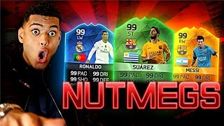 THE BEST NUTMEGS!! FIFA 16