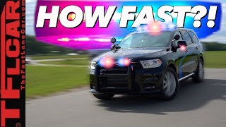 Can You Really Outrun The New Dodge Durango Pursuit Police Car? We Find Out!