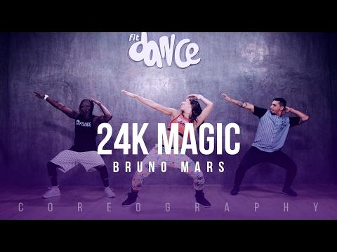 24K Magic - Bruno Mars - Choreography - FitDance Life