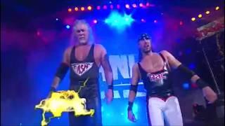 The Band (Kevin Nash & Syxx Pac) Rare Rockhouse Remix Entrance @ TNA Genesis 2010