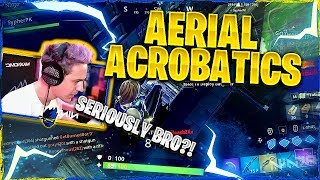 AERIAL ACROBATICS! Fortnite Duos ft. SypherPK
