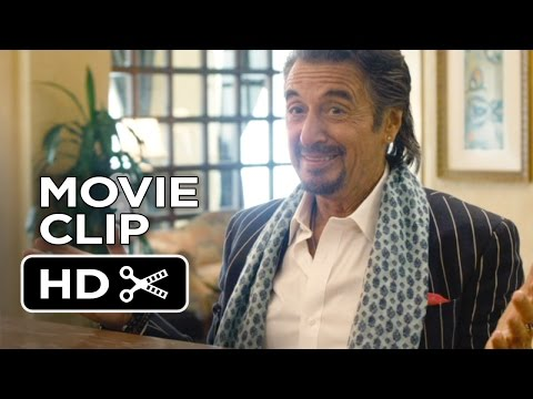 Danny Collins Movie CLIP - Dinner (2015) - Christopher Plummer, Al Pacino Movie HD