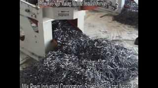 Prem Wire Nails Making Machine Installed Overseas