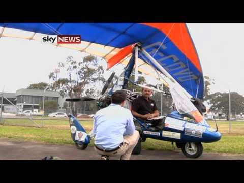 Paraplegic Brit Flies 12000 Miles To Sydney In Microlight Plane