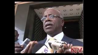 Dismissed PM Amama Mbabazi returns to Parliament as back-bencher