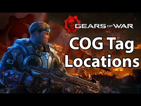 Gears of War: Judgement - All COG Tag Locations (Respect For The Fallen Achievement Guide)