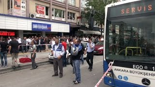 Ankara'da Feci Kaza: Belediye Otobüsü Durakta Bekleyenleri Ezdi