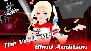 The Voice 2017 Blind Audition - Harley Quinn - Chandelier