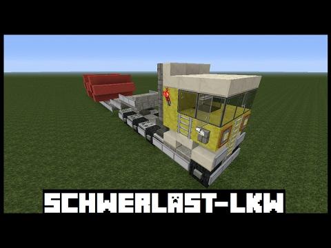 Minecraft Tutorial Mercedes Bauen Deutsch