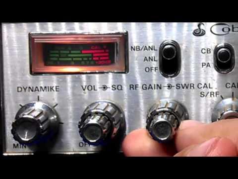 Medir estacionária no Radio Px Cobra 148 GTL