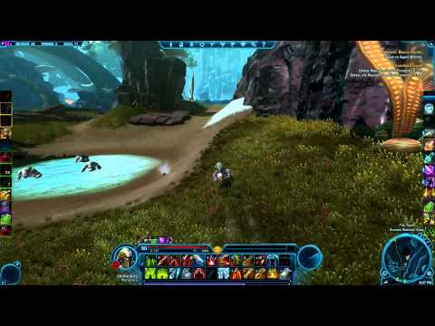 Rakata Energy Cube route for Belsavis Datacron - SWTOR (Green Matrix Shard)