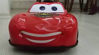 Lightning McQueen Egg Surprise with Disney Cars 2 Toys Red Color Cars