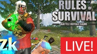 🔴LIVE Rules Of Survival Steam / again #14