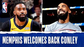 Mike Conley's RETURN To Memphis!