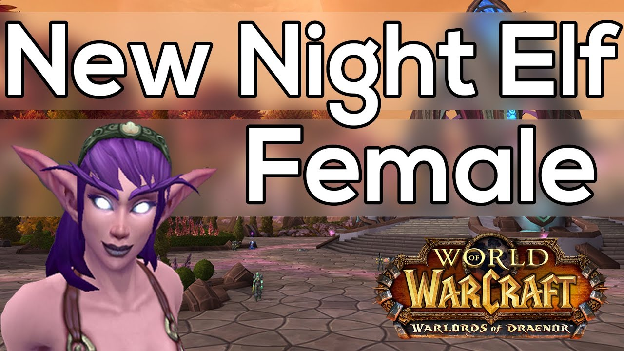 Night elf youtube pron picture